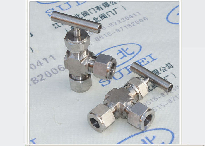 Forged steel body Cutting ferrule stainless needle valve for irrigation